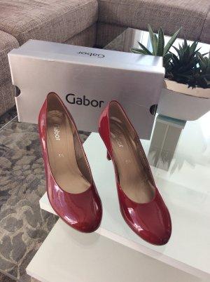 Gabor Pumps dunkel rot nagelneu 38,5