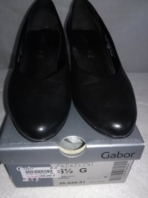 Gabor Pumps Gr. 40.5 (6 1/2), schwarz