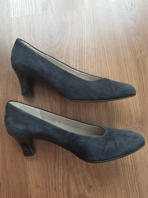 Gabor Pumps Gr. 5 blau
