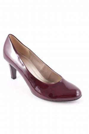 Gabor Pumps purpur Casual-Look