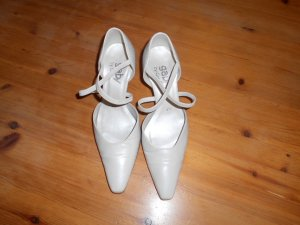 Gabor- Pumps/ Tanzschuhe in creme Gr. 36,5