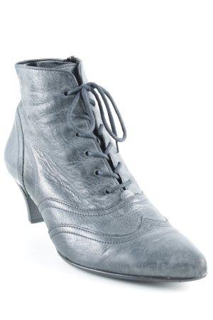 Gabor Reißverschluss-Stiefeletten grau Country-Look