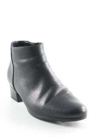 Gabor Reißverschluss-Stiefeletten schwarz Elegant