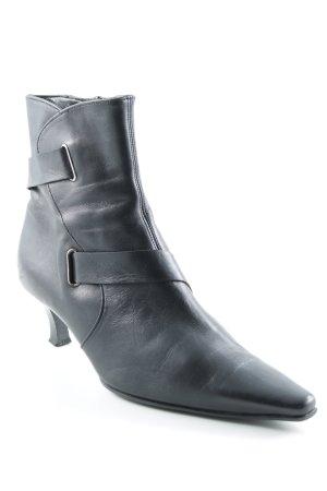 Gabor Reißverschluss-Stiefeletten schwarz klassischer Stil