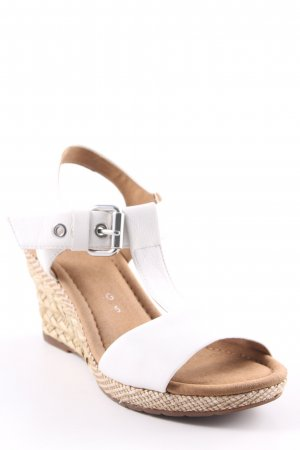 Gabor Strapped Sandals beige-white casual look