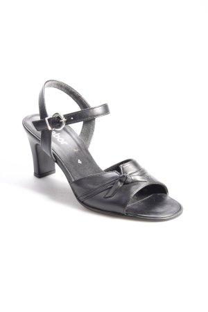 Gabor Riemchen-Sandalen schwarz