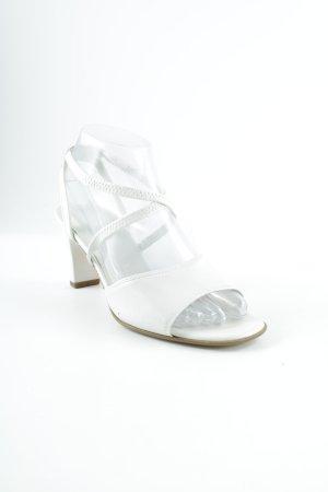 Gabor Riemchen-Sandalen weiß Elegant