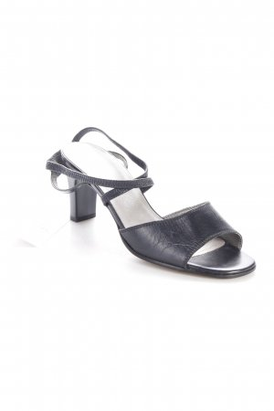 Gabor Strapped High-Heeled Sandals black elegant