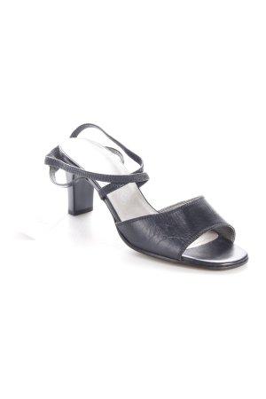 Gabor Riemchen-Sandaletten schwarz Eleganz-Look