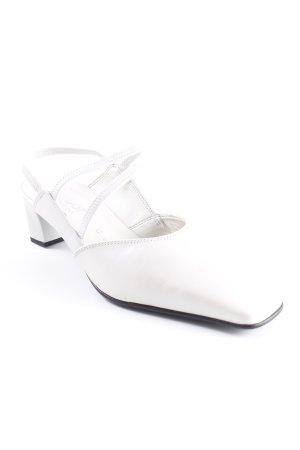 Gabor Riemchenpumps weiß Elegant