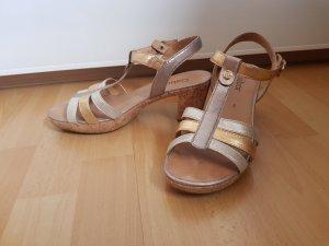 Gabor Sandalen met bandjes en hoge hakken veelkleurig