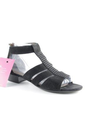 Gabor Römer-Sandalen schwarz schlichter Stil