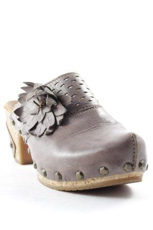 Gabor Sabots graubraun Street-Fashion-Look
