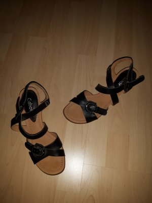 Gabor Sandale aus Leder schwarz