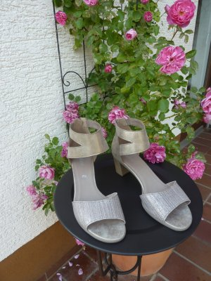 Gabor Comfort Sandals gold-colored