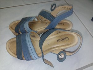 Gabor Sandale mit Korkabsatz