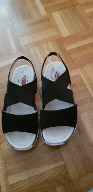 Gabor Comfort Sandals white-dark blue