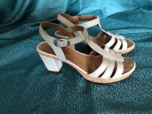 Gabor Sandales à plateforme brun sable cuir