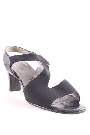 Gabor High-Heeled Sandals black casual look