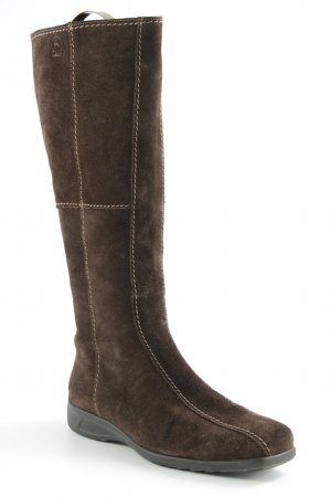 Gabor Jackboots dark brown casual look