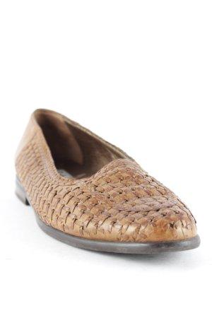 Gabor Slip-on brun torsades style décontracté