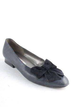 Gabor Slip-on bleu foncé motif de tache élégant