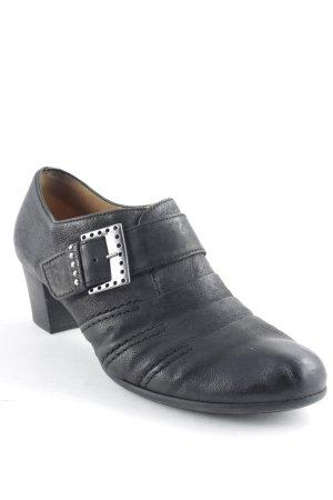 Gabor Slip-on noir style décontracté