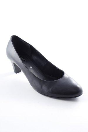 Gabor Schlüpfschuhe schwarz schlichter Stil