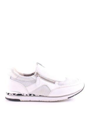 Gabor Schlüpfsneaker weiß Casual-Look