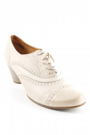Gabor Lace-up Pumps beige casual look