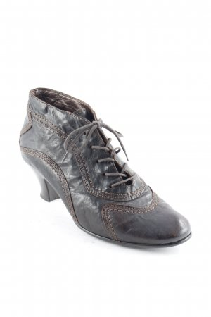 Gabor Lace-up Pumps dark brown casual look