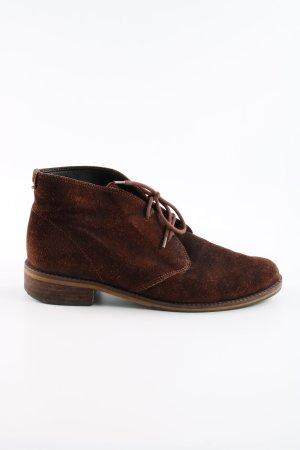 Gabor Bottines à lacets brun style décontracté