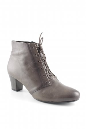 Gabor Lace-up Booties dark brown casual look