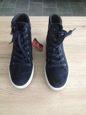 Gabor Boots dark blue suede