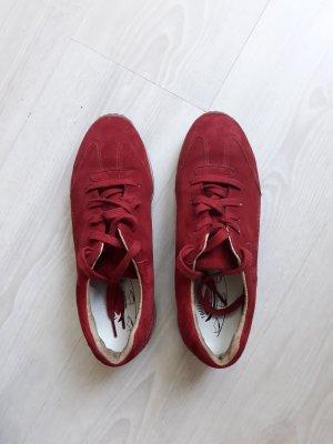Gabor : Schnürschuh Größe 7 rot
