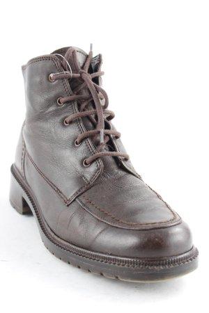 Gabor Chaussures à lacets brun style décontracté
