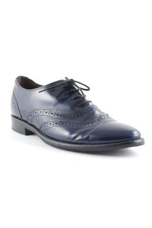 Gabor Schnürschuhe dunkelblau klassischer Stil