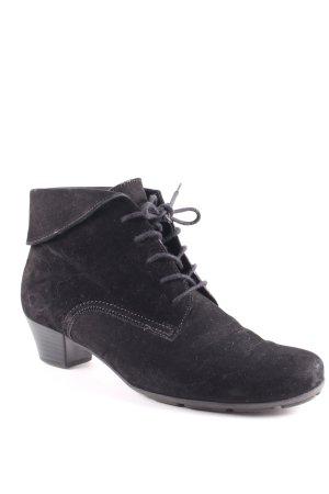 Gabor Schnürschuhe schwarz klassischer Stil