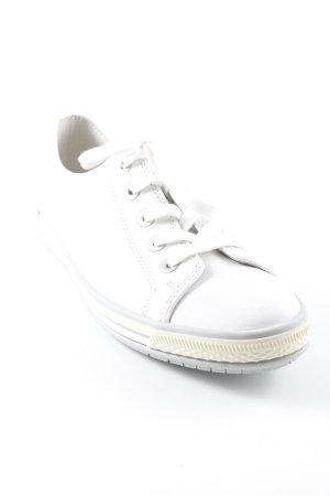 Gabor Schnürschuhe weiß-grau schlichter Stil