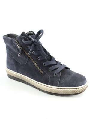 Gabor Lace-up Boots dark blue casual look
