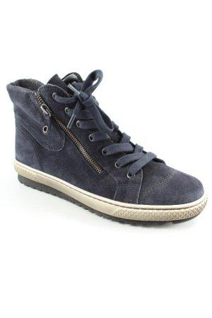Gabor Aanrijg laarzen donkerblauw casual uitstraling