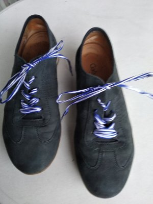 Gabor Comfort Lace-Up Sneaker dark blue