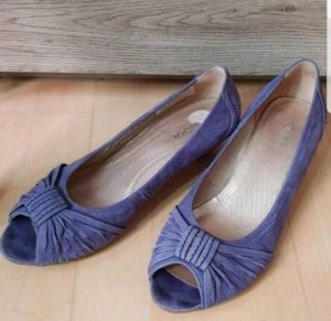 Gabor Ballerinas purple-azure