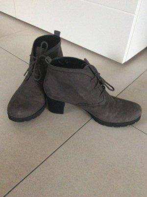 Gabor Schuhe grau Wildleder Gr. 38,5