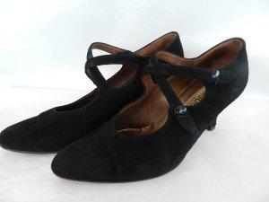Gabor Schuhe Pumps Größe 3 1/2  (36)  Wildleder - schwarz