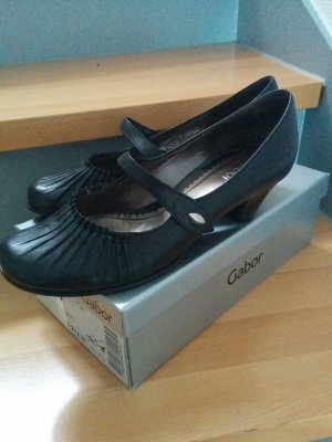 Gabor Backless Pumps black leather