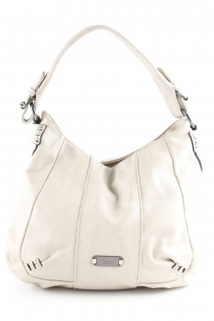 Gabor Shoulder Bag oatmeal-cream flecked urban style