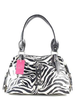 Gabor Shopper black-cream animal pattern extravagant style