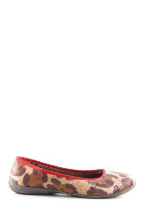 Gabor Ballerine à bride arrière motif léopard style décontracté