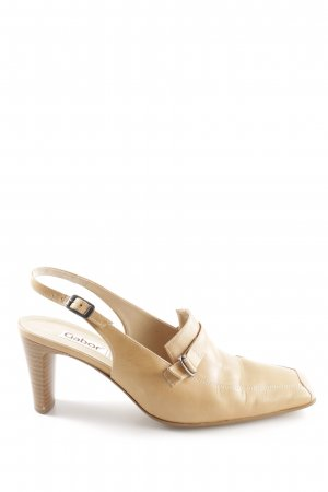 Gabor Slingback-Pumps creme Business-Look